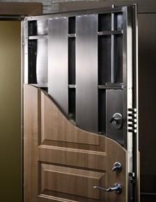 Senos saugios durys